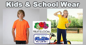 school wear and kids embroidered items